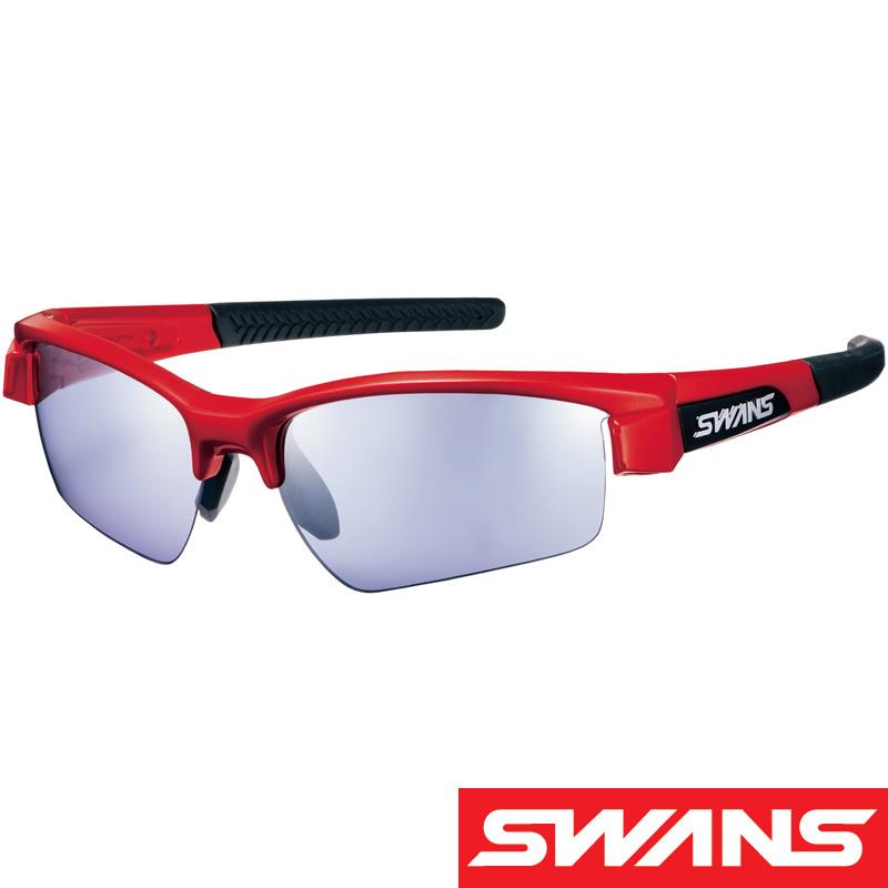 スポーツサングラス LION SIN[ライオン シン] ミラーレンズ LI SIN-0714 UV 紫外線カット サングラス メンズ おすすめ 人気 SWANS スワンズ