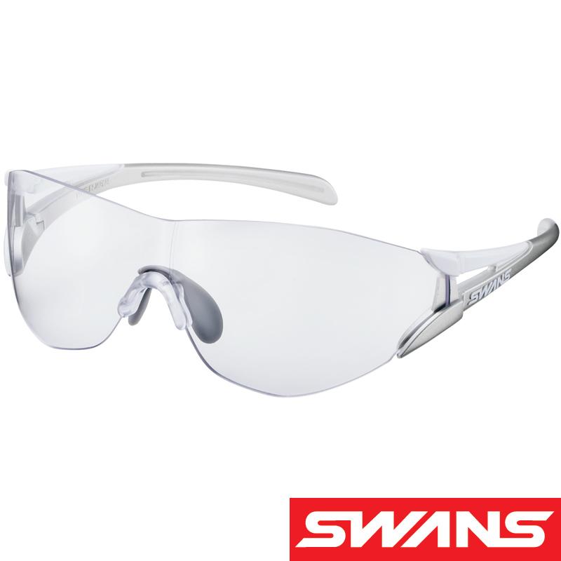 スポーツサングラス SOU-II-C コンパクトサイズ SOU2C-0012 クリア UV 紫外線カット サングラス レディース 小さめ おすすめ 人気 SWANS スワンズ