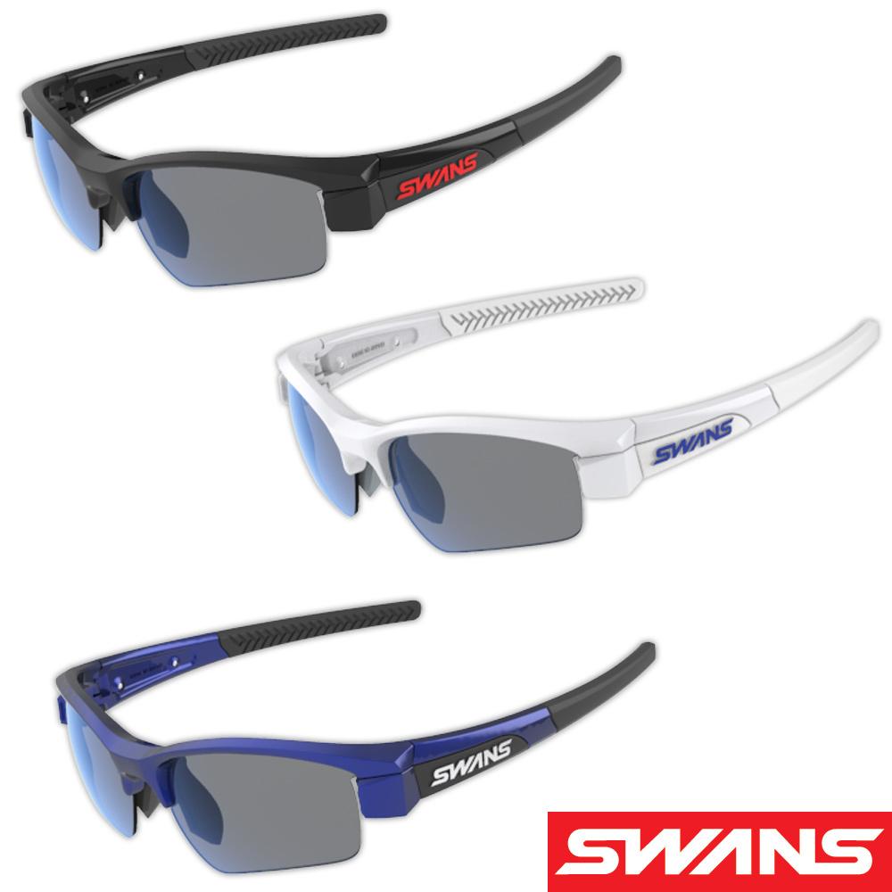 サングラス 偏光レンズ 両面マルチ スポーツ メンズ レディースドライブ 釣り ゴルフ LION SIN Compact フレーム+レンズセット L-LI SIN-C-0151 SMK おすすめ 人気 SWANS スワンズ
