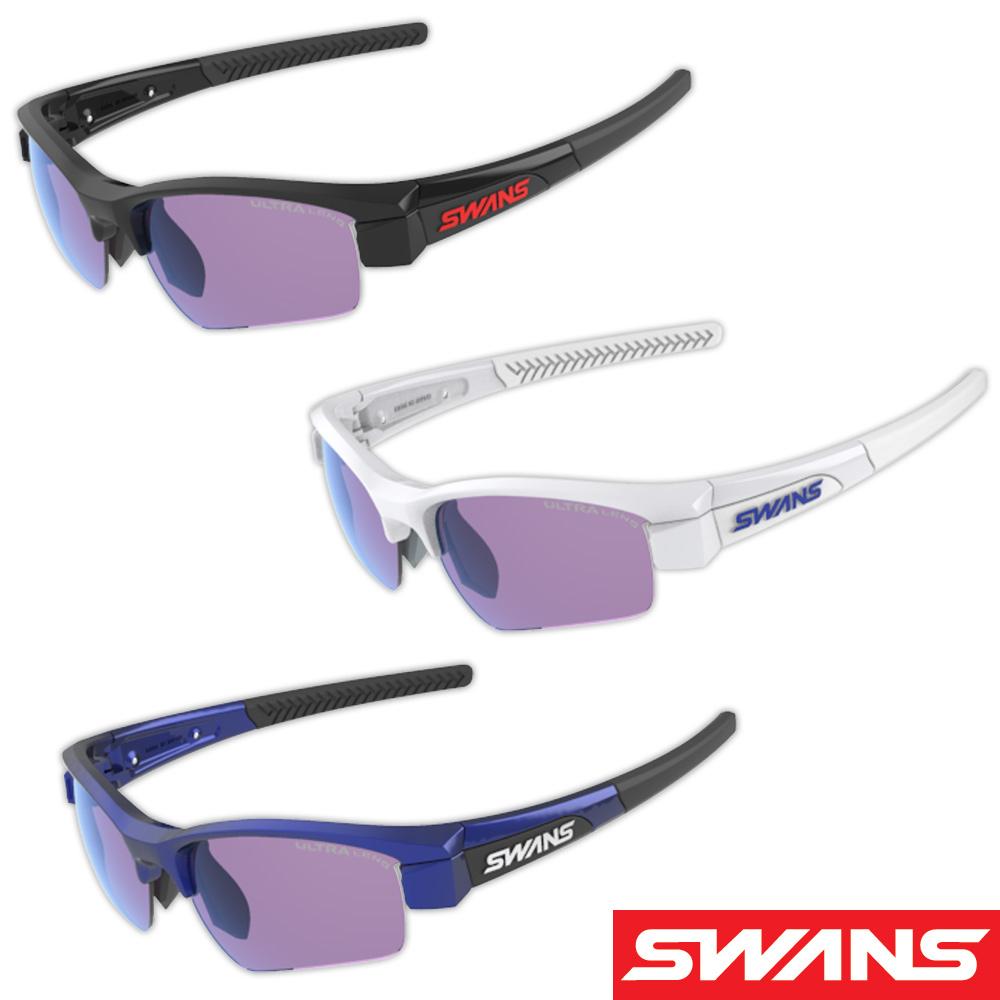 サングラス 偏光レンズ ウルトラレンズ 両面マルチ メンズ レディース ドライブ 釣り ゴルフ スポーツ LION SIN Compact フレーム+L-LI SIN-C-0167 PICBL おすすめ 人気 SWANS スワンズ