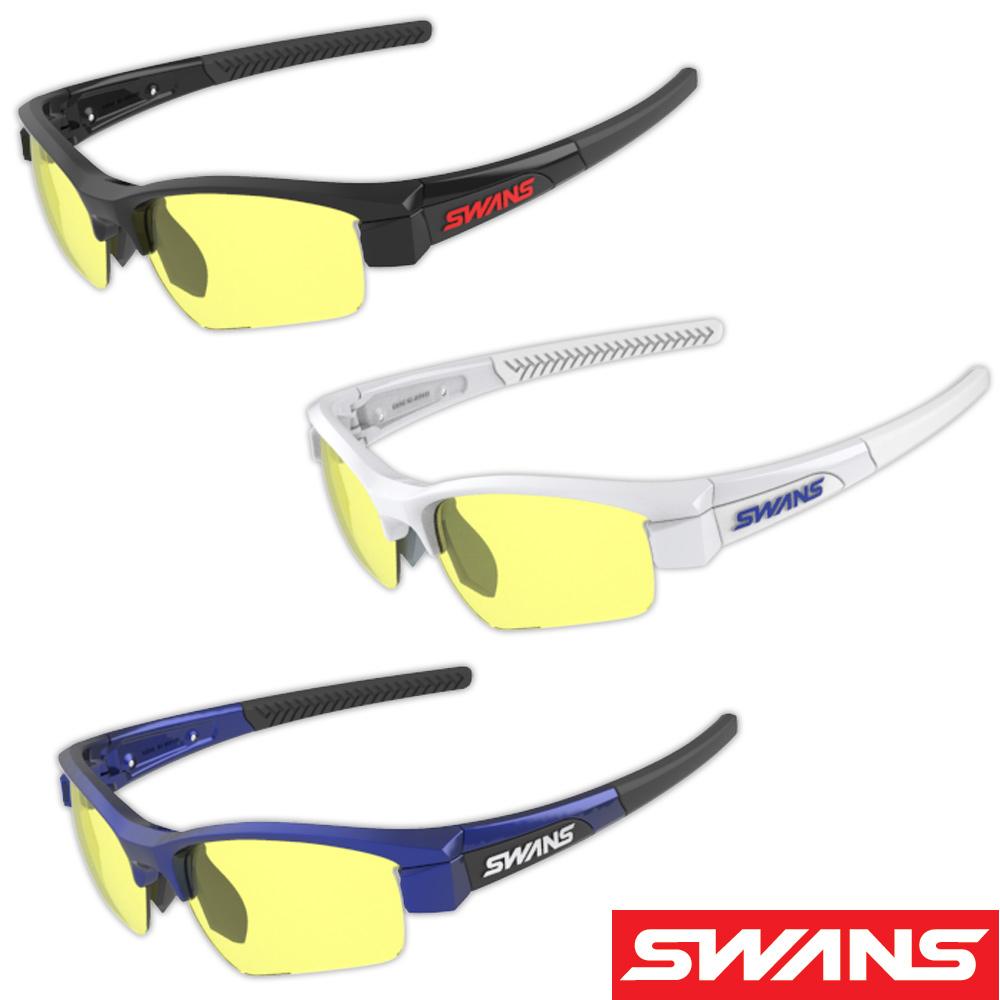 サングラス 両面クラリテックスコートレンズ スポーツ メンズ レディース LION SIN Compact フレーム+L-LI SIN-C-0411 Y 撥水加工 おすすめ 人気 SWANS スワンズ