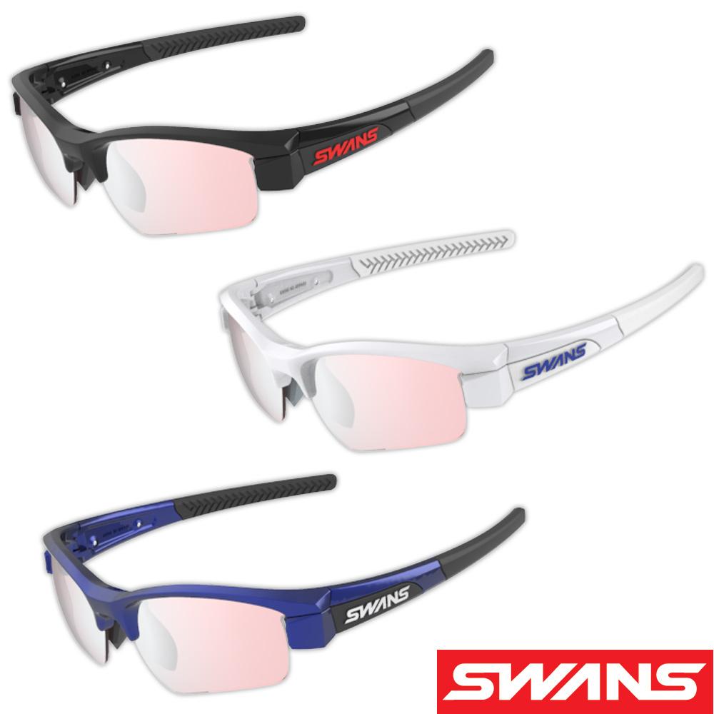 サングラス ミラーレンズ シルバーミラー×ライトピンク メンズ レディース ドライブ 釣り ゴルフ スポーツ LION SIN Compact フレーム+L-LI SIN-C-0709 PI/SL おすすめ 人気 SWANS スワンズ