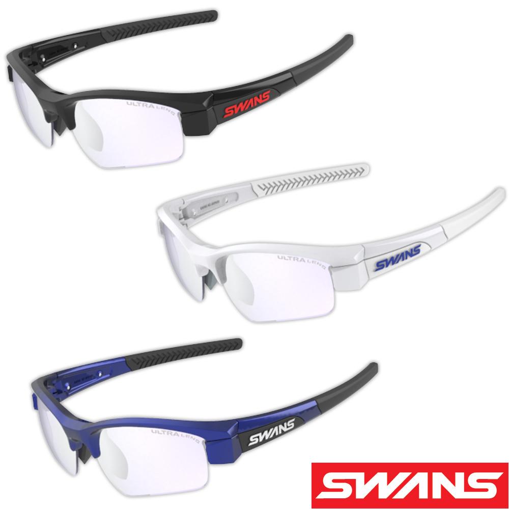 サングラス ミラーレンズ メンズ レディース シルバーミラー×ULライトアイスブルー ドライブ ゴルフ スポーツ LION SIN Compact フレーム+L-LI SIN-C-0715 LICBL ウルトラレンズ おすすめ 人気 SWANS スワンズ