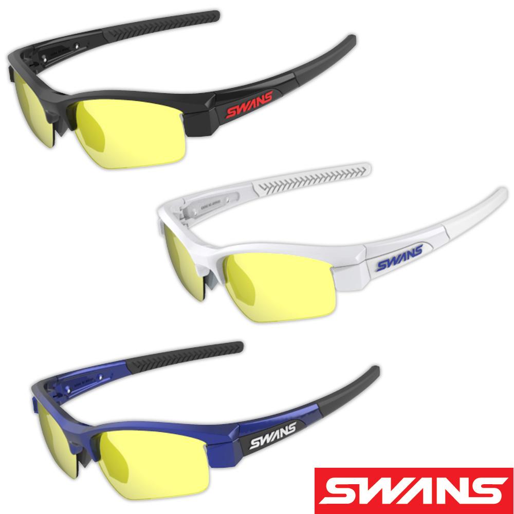 サングラス ミラーレンズ イエローミラー×スモーク ドライブ ゴルフ スポーツ メンズ レディース LION SIN Compact フレーム+L-LI SIN-C-1601 SM/Y おすすめ 人気 SWANS スワンズ