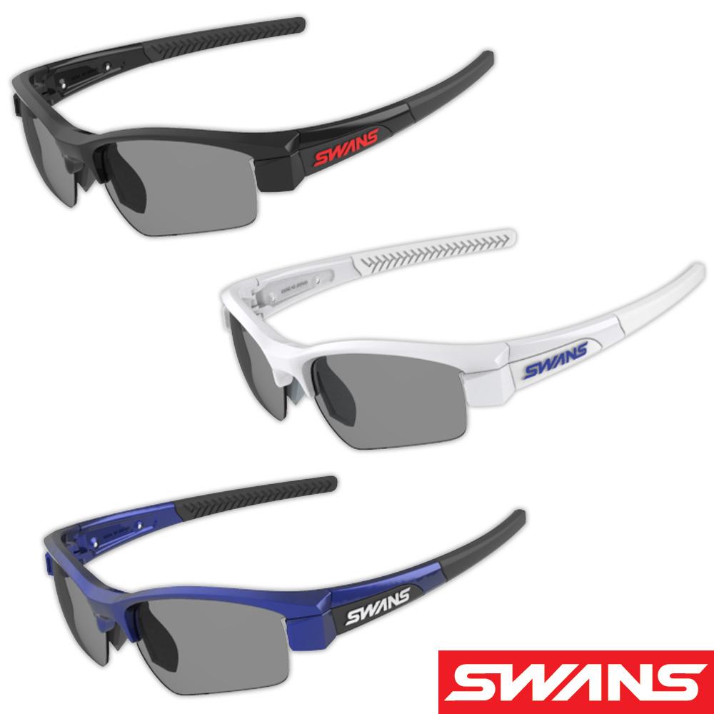 サングラス スポーツ スモークレンズ ゴルフ ドライブ メンズ レディース LION SIN Compact フレーム+L-LI SIN-C-0001 SMK カラーレンズ おすすめ 人気 SWANS スワンズ