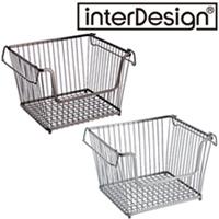 インターデザイン オープンラージビン 68471-8 68476-3  インターデザイン 収納 ラック かご カゴ オープンバスケット