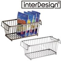 インターデザイン バスケット63271-9 63276-4 インターデザイン 収納 ラック かご カゴ オープンバスケット