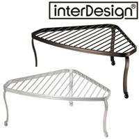 インターデザイン コーナーシェルフ 51871-6 51876-1 インターデザイン 収納 ラック キッチン雑貨 雑貨 整理整頓