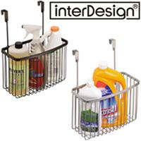 インターデザイン オーバーキャビネットバスケット 52871-5 52876-0 インターデザイン 収納 小物収納 カゴ 整理 キッチン雑貨 雑貨