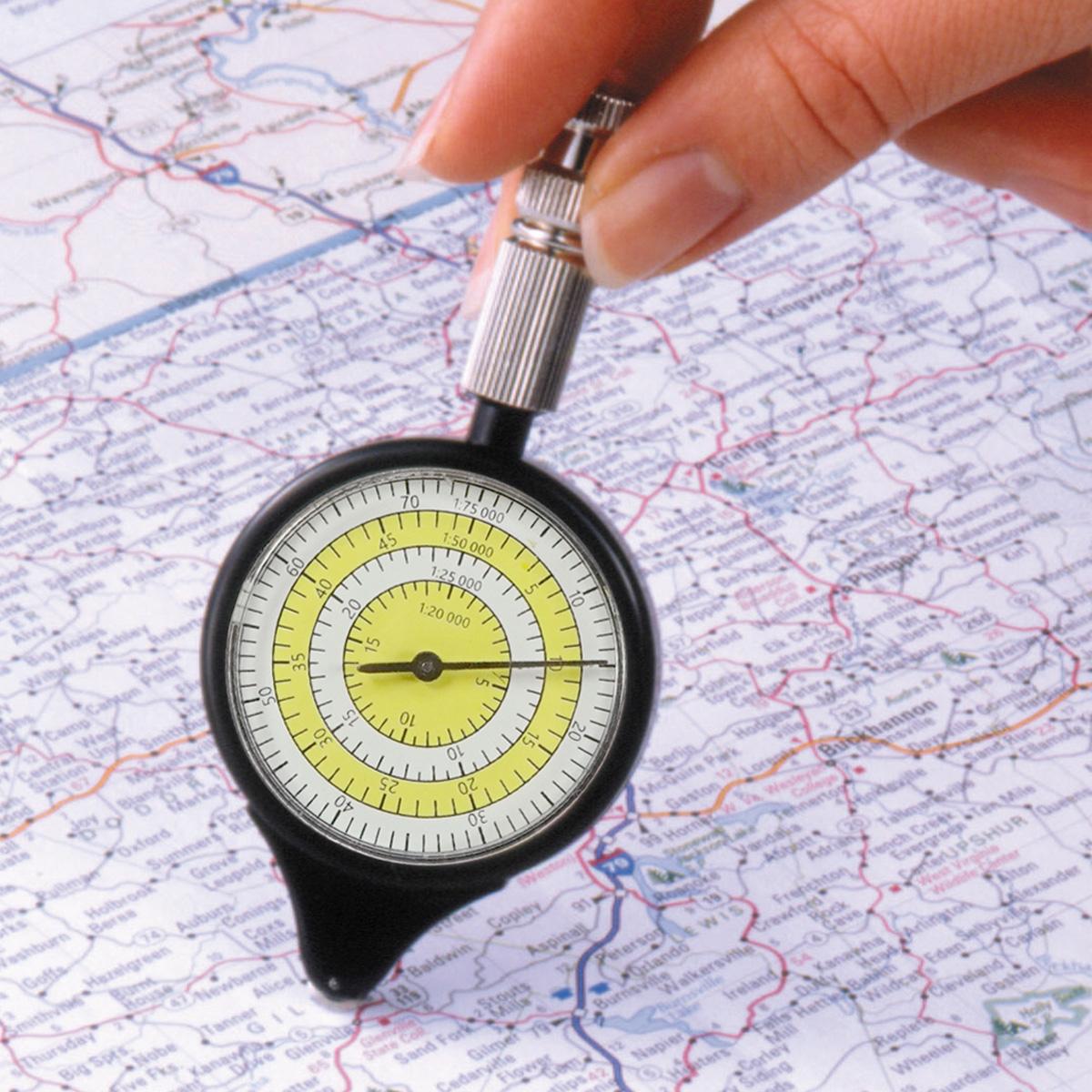 マップメジャー MM-1 キルビメーター 地図の距離計測 アナログ シンプル 小型