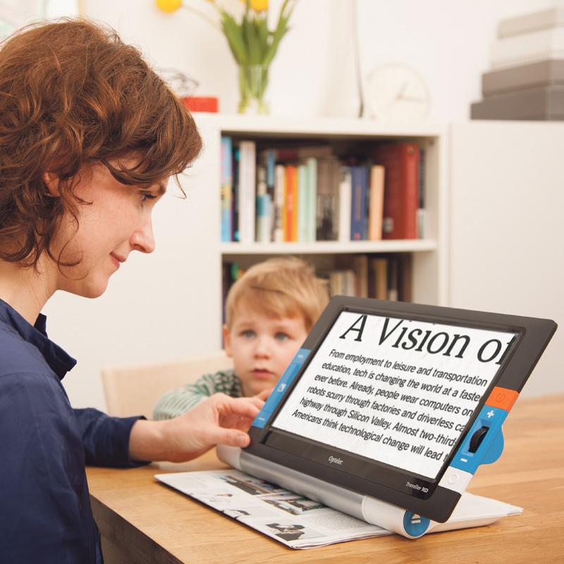 持ち運べる卓上型 拡大読書器 トラベラー HD あんしんアフターサービスセット Times おすすめ 視覚障害 視覚障がい