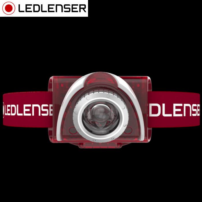 LED LENSER SEO5レッド 6106 レッドレンザー ledヘッドライト 懐中電灯 LED 防災グッズ アウトドア