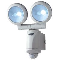 センサーライト 屋外 LED 1.3W×2 LED-220 ライテックスシリーズ 乾電池式 MUSASHI [ムサシ]