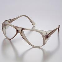メガネ アイカップフレーム UL-200-TBCR [JISCR] マスク専用形 保護メガネ [スペクタクル形]