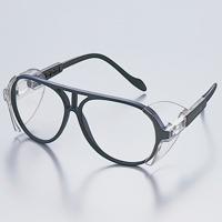 保護メガネ スペクタクル形 オリジナルフレーム ゴーグル 2眼型 おすすめ TA-160-PC 上下角度自由調整 保護めがね