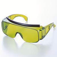 保護メガネ IR遮光大型オーバーグラス 2800 IR2 安全メガネ 溶接 保護めがね メガネ併用 ゴーグル