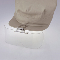 保護めがね 布帽子取付形 HS-1 ニュ-プラスチック