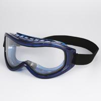ゴーグル 密閉式W接眼レンズ アイピース GL-97W PAAF アスベスト・新型インフルエンザ・ウイルス・化学物質 対策用ゴーグル メガネの上 粉じん 一眼型