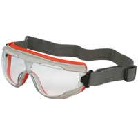 ソフトトリム付コンパクトゴーグル オレンジフレーム GL-1120 AF トーアボージン 防曇 防爆形 マスク併用可 防じん UVカット ベンチレーション 密着