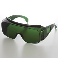 保護メガネ IR遮光大型オーバーグラス 2800 IR4 安全メガネ 溶接 保護めがね メガネ併用 ゴーグル