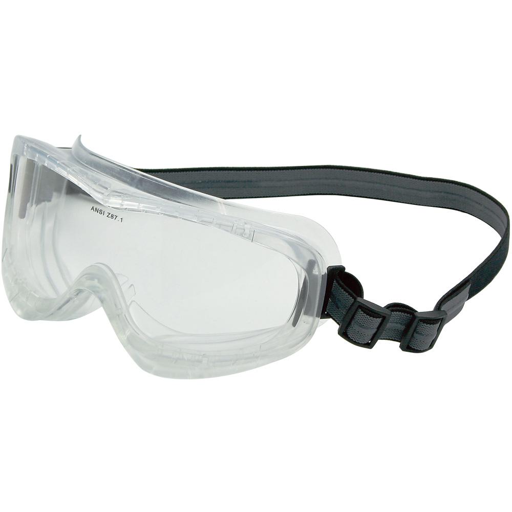 広視界スーパーワイド ゴーグル ノンスリップSSバンド ヘルメット用 保護メガネ 作業 おすすめ 曇らない 業務用