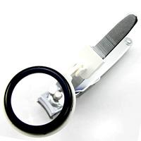 虫眼鏡 ルーペ付き 爪切り 2.5倍 35mm 大きく見える 安心 ルーペ付き 爪切り 敬老の日
