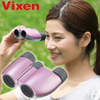 双眼鏡 コンサート 8倍 21mm ビクセン アリーナ M8x21 パウダーピンク オペラグラス Vixen