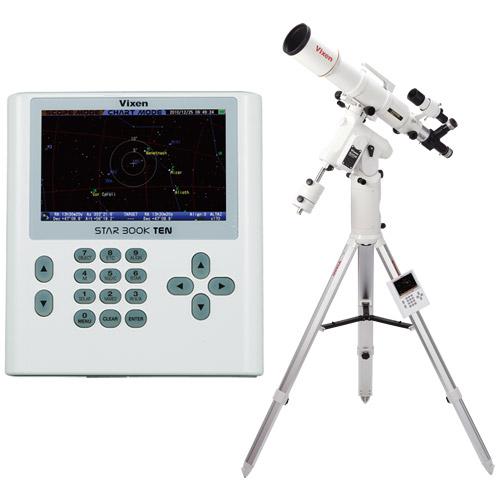 天体望遠鏡 SXD2赤道儀・PFL-AX103S-S ビクセン 自動追尾 自動導入 VIXEN 宙ガール 天体観測 STAR BOOK TEN 屈折式 星景 星野 撮影 写真