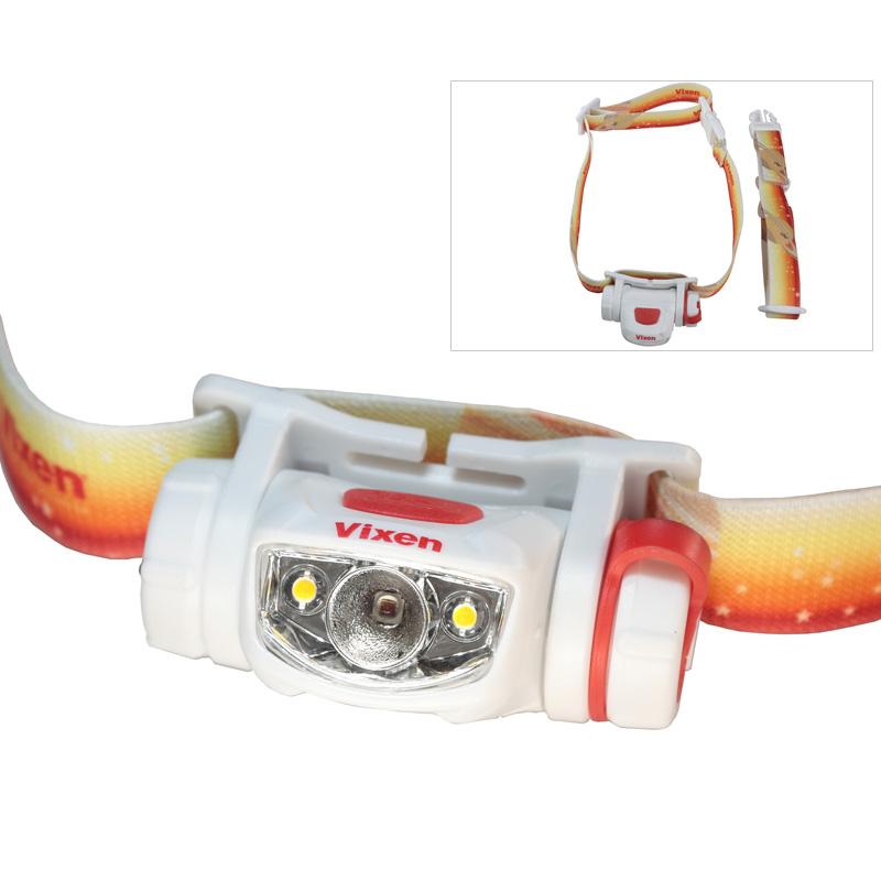 天体観測用ライト SG-L01 71091 VIXEN LED ビクセン 天体観測 ライト 釣り フィッシング 赤色灯 電球色灯