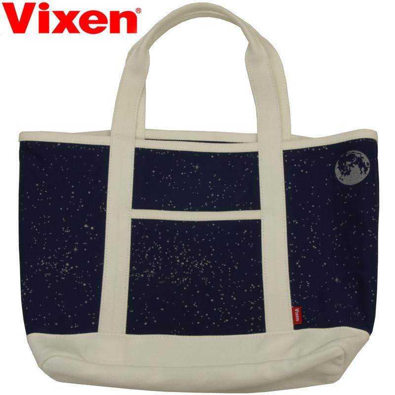ビクセン 星空柄の星見グッズ 宙トートバック Mサイズ 74024-6 VIXEN 宙ガール 天体観測 スターパーティ