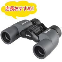 ビクセン 双眼鏡 アトレックライトBR6x30WP 6倍 30mm 14701-4 ドーム コンサート ライブ VIXEN