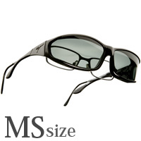 偏光 オーバーグラス ポラライズド W412G オーバーサングラス 偏光サングラス オーバー VISTANA [ビスタナ] 偏光グラス ゴルフ UV カット 紫外線カット