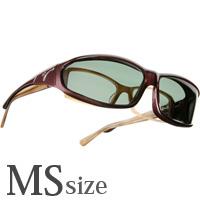 VISTANA [ビスタナ] 偏光 オーバーグラス ポラライズド W419G オーバーサングラス 偏光サングラス オーバー 偏光グラス ゴルフ UV カット 紫外線カット