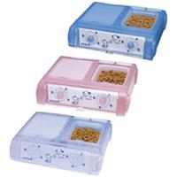 ペット自動給餌器 わんにゃんぐるめ CD-400 YAMASA 自動給餌器 犬 猫 餌やり機 タイマー ペット用品