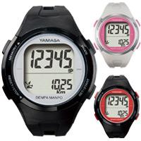 万歩計 腕時計タイプ ウォッチ万歩計 小型 ヤマサ 電波時計 TM-500 とけい万歩 歩数計 カロリー ダイエット メンズ レディース