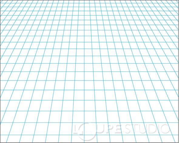 透視方眼シート[10枚組] B3