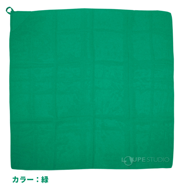 ループ付カラースカーフ ミニ