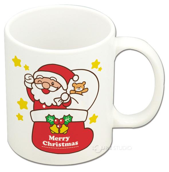 クリスマスマグカップ サンタ&トナカイ