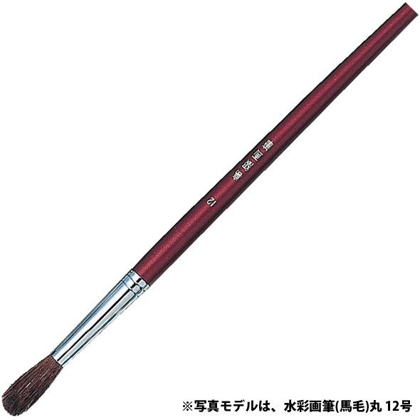 水彩画筆(馬毛)丸 18号