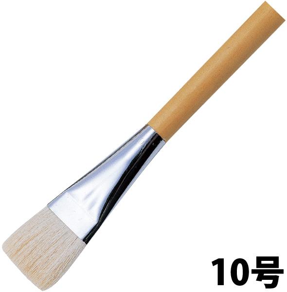 平筆(ポスター用・白毛)10号