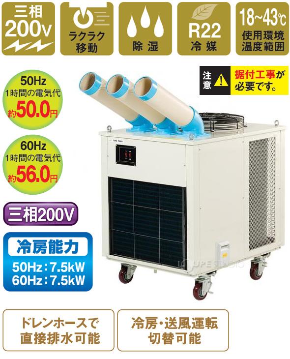 スポットクーラー三相 SAC-7500