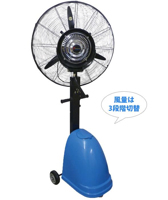 ミストファン 遠心分離式霧送風機