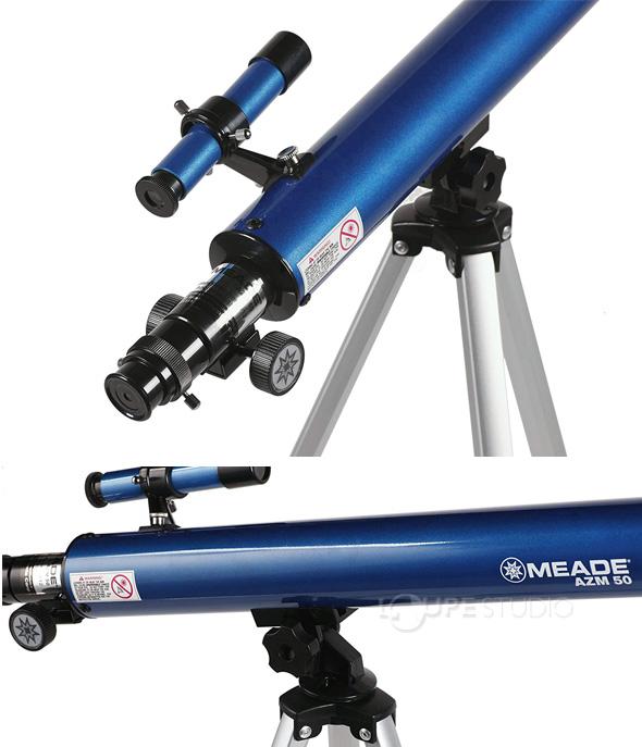 天体望遠鏡 スマホ ミード 初心者 小学生 子供 AZM-50