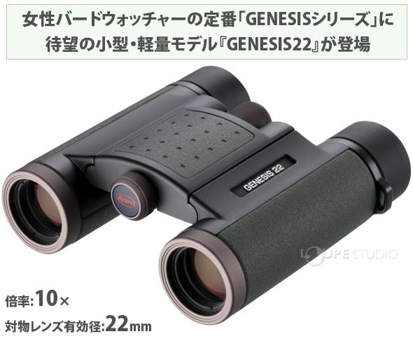 双眼鏡 GENESIS22 PROMINAR 10×22