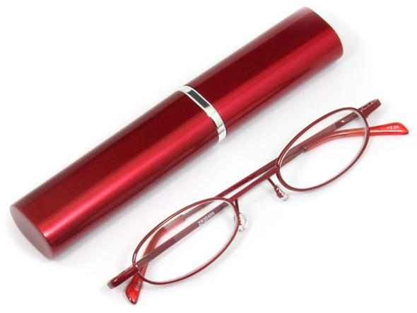 ペン型老眼鏡レッドのご紹介