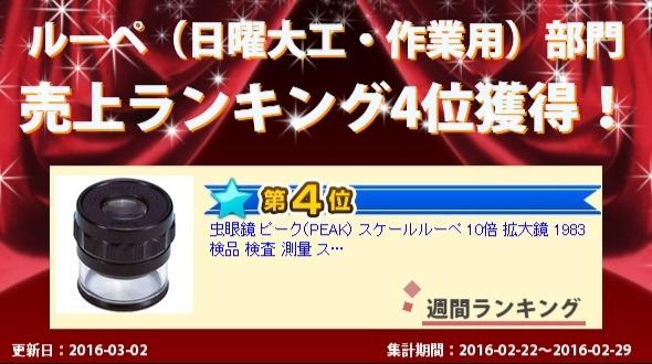 売上ランキング3位獲得!!