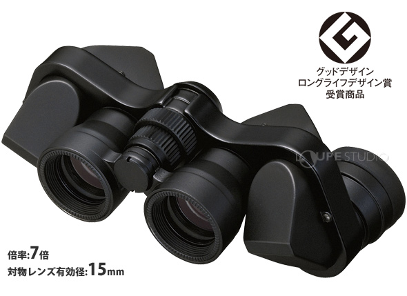 NIKON 双眼鏡 BAA514AA ミクロン 7X15 CF ブラック