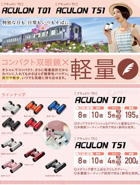 NIKON 双眼鏡 アキュロンT01 10X21