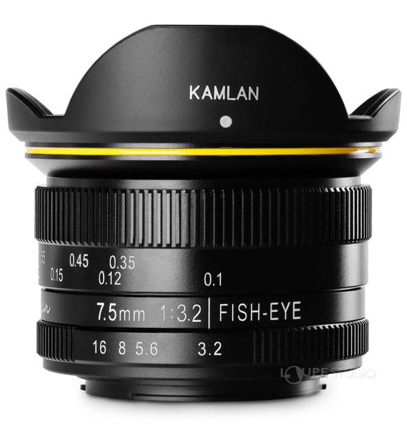 KAMLAN フィッシュアイレンズ FS 7.5mm F3.2 MFT