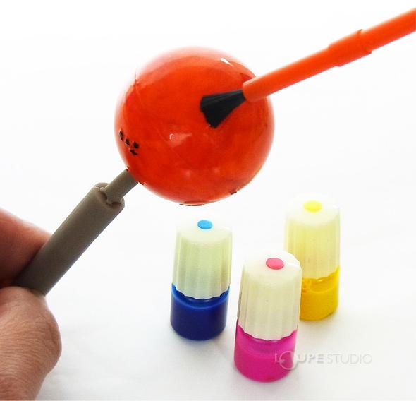 色を塗って、自分だけの惑星に仕上げよう!